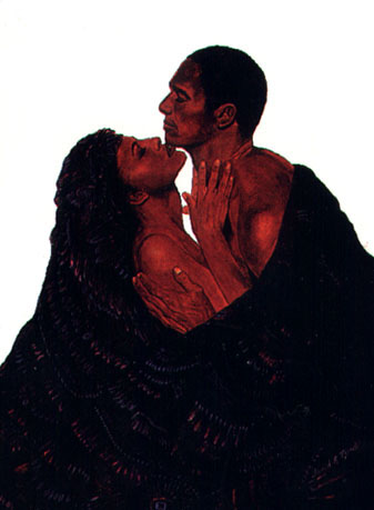 Louisiana lovers 39 portal black art gallery for Pictures of black lovers